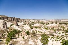 Cappadocia, Turcja Malowniczy krajobraz dolina michaelita (Dolinny Pashabag) Zdjęcie Royalty Free