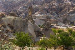 Cappadocia Turcja piękna ziemia Obrazy Royalty Free