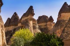 Cappadocia Turcja piękna ziemia Fotografia Stock