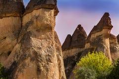 Cappadocia Turcja piękna ziemia Zdjęcie Stock