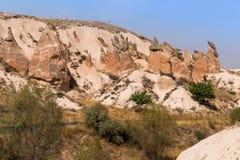 Cappadocia Turcja piękna ziemia Fotografia Royalty Free