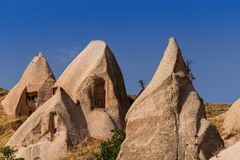 Cappadocia Turcja piękna ziemia zdjęcia stock