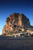 Cappadocia in Turkey. Uchisar, Castle, Cappadocia in Turkey / Central Anatolia Cappadocia the world and a miraculous nature wonder royalty free stock image