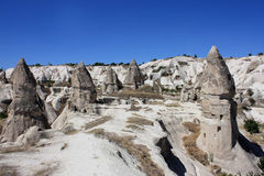 Cappadocia in Turkey. Love Valley, Cappadocia in Turkey / Central Anatolia Cappadocia the world and a miraculous nature wonder stock photos