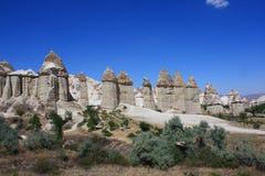 Cappadocia in Turkey. Love Valley, Cappadocia in Turkey / Central Anatolia Cappadocia the world and a miraculous nature wonder Stock Photo
