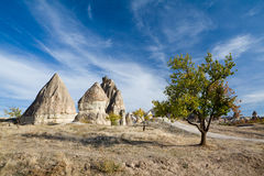 Cappadocia in Turkey Royalty Free Stock Photography
