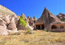 Cappadocia in Turkey. Stone formations of cappadocia, nature wonder Stock Images