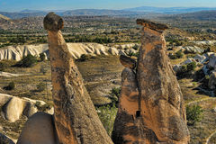 Cappadocia in Turkey Stock Photos