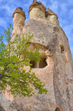 CAPPADOCIA TURKEY. Beautuful view on the rocks in Cappadocia, Turkey. Spring Stock Image