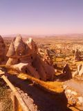 Cappadocia Turkey fairy chimney Royalty Free Stock Photography