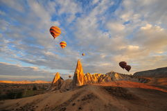 Cappadocia - Turkey, Fairy Chimneys Stock Image