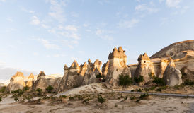 Cappadocia - Turkey, Fairy Chimneys Royalty Free Stock Image