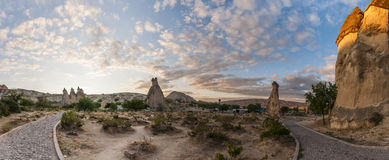 Cappadocia - Turkey, Fairy Chimneys Royalty Free Stock Image