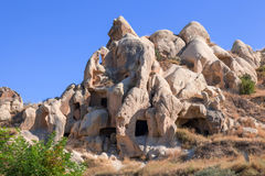 Cappadocia, Turkey. Goreme open air museum Stock Photography