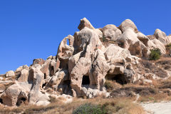 Cappadocia, Turkey. Goreme open air museum Royalty Free Stock Images