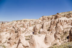 Cappadocia, Turkey. Mountain Devrent Valley with figures of weathering Stock Photo