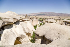 Cappadocia, Turkey. Pashabag Valley (Valley of the Monks) Royalty Free Stock Photo