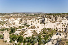 Cappadocia, Turkey. The picturesque Valley of Pigeons with pillars of weathering Stock Photos