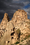 Cappadocia. Turkey. Cappadocia - region in the central part of Turkey on the Anatolian plateau, at an altitude of about 1000 meters above sea level Stock Photos