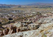 Cappadocia, Turkey. Rock Formations in Cappadocia, Turkey Stock Photos