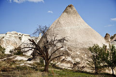 Cappadocia, Turkey. Rock formations in Cappadocia region. Turkey Stock Photos