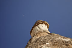 Cappadocia, Turkey. Rock formations in Cappadocia region. Turkey Stock Photography
