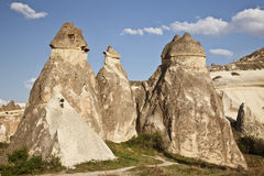 Cappadocia, Turkey. Rock formations in Cappadocia region. Turkey Stock Image