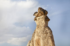 Cappadocia, Turkey. Rock formations in Cappadocia region. Turkey Royalty Free Stock Images