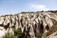 Cappadocia, Turkey. Rock formations in Cappadocia region. Turkey Stock Photo