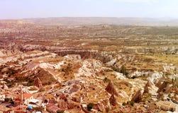 Cappadocia in Turkey to Goreme Royalty Free Stock Photos