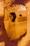 Cappadocia Turkey Underground City Royalty Free Stock Photo