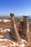 Cappadocia, Turkey. Urgup Fairy Chimneys Stock Photos