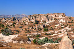 Cappadocia, Turkey. Urgup Fairy Chimneys Royalty Free Stock Images