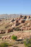 Cappadocia Turkiet Arkivfoto