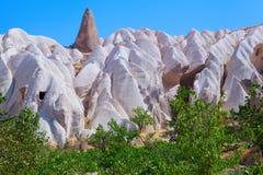 Cappadocia Turkiet Arkivbilder