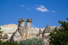 Cappadocia Turkiet Royaltyfria Foton