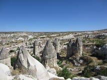 Cappadocia Turkiet: sikt Royaltyfria Bilder