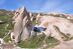 Cappadocia in Turkije royalty-vrije stock afbeeldingen