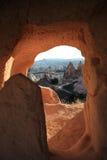 Cappadocia in Turkije Royalty-vrije Stock Foto's