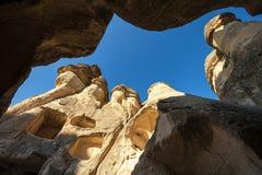 Cappadocia in Turkije Stock Afbeelding