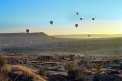 Cappadocia - Turkije Stock Fotografie
