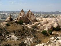Cappadocia, Turkije Stock Afbeeldingen