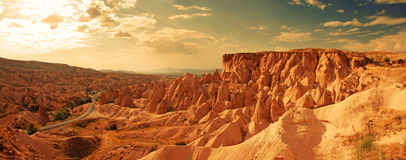 Cappadocia, Turquía Imágenes de archivo libres de regalías