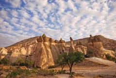 Cappadocia, Turquía Imagen de archivo