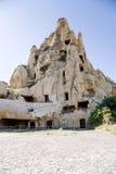 Cappadocia, Turquia As ruínas do museu do ar livre do monastério da caverna de Goreme Imagens de Stock Royalty Free
