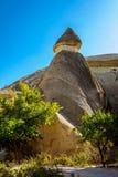 Cappadocia, Turquie Cheminée féerique Multihead lapident des champignons dans la vallée des moines Vallée de Pasabag Photos stock