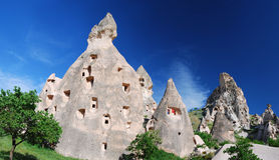 cappadocia uchisar Стоковые Фото
