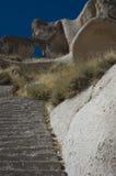 cappadocia uchisar Στοκ Φωτογραφία