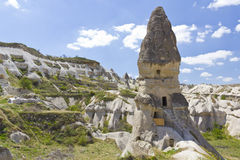 Cappadocia unusual rocks Royalty Free Stock Photo