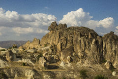 Cappadocia vaggar Arkivfoto